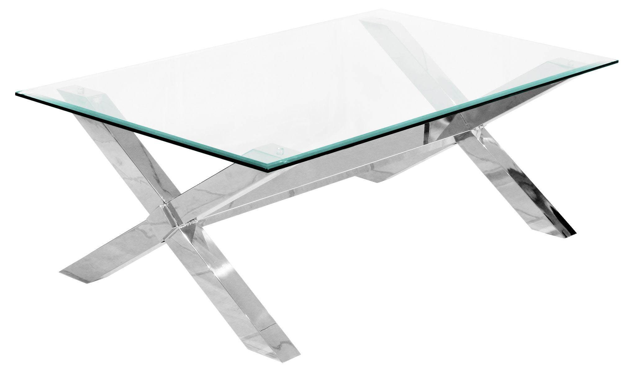 Glass And Steel Coffee Tables Stainless Steel And Glass Coffee Table Coffee Table