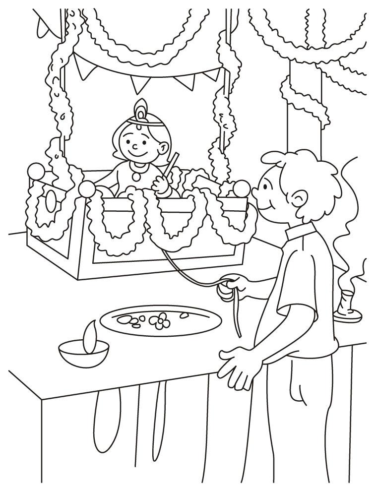 Ugadi Hd Wallpapers Free Download Laddu Gopal Coloring Page Download Free Laddu Gopal