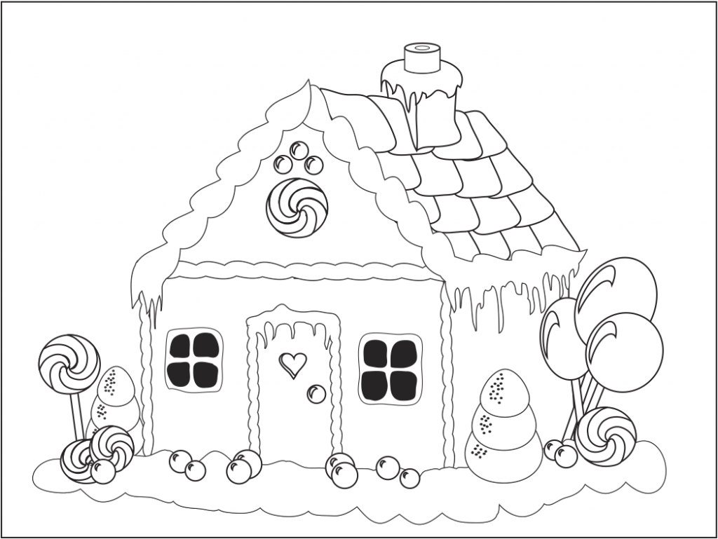 Coloriage Maison à Imprimer Free Printable House Coloring Pages For Kids