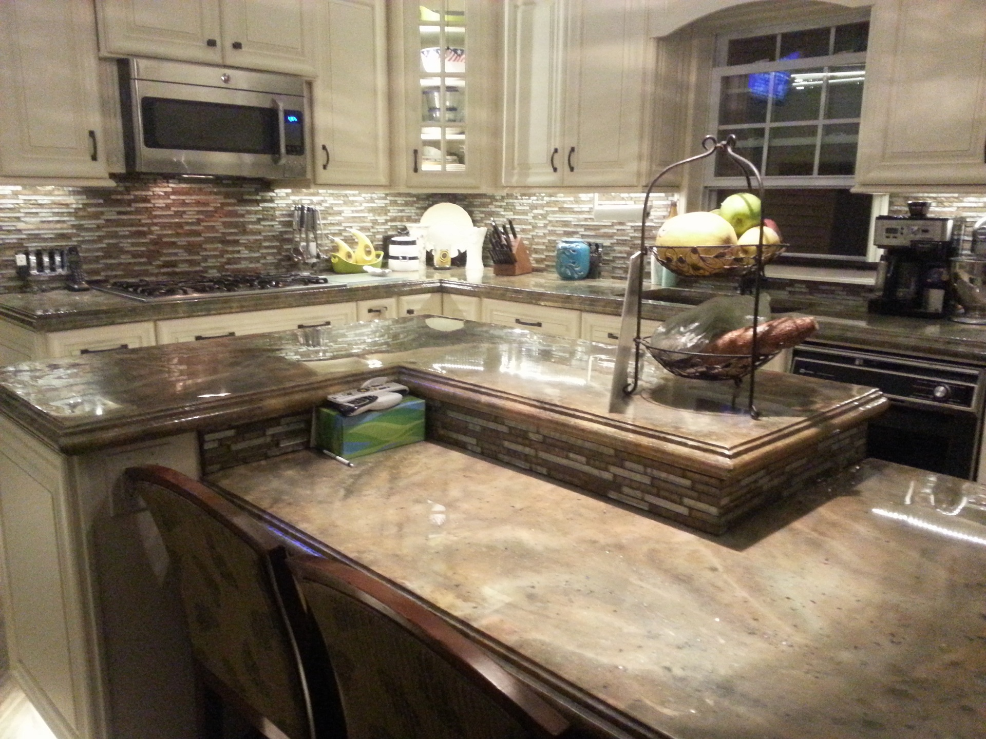 Concrete Countertop Contractors Decorative Concrete Countertops Directory Find