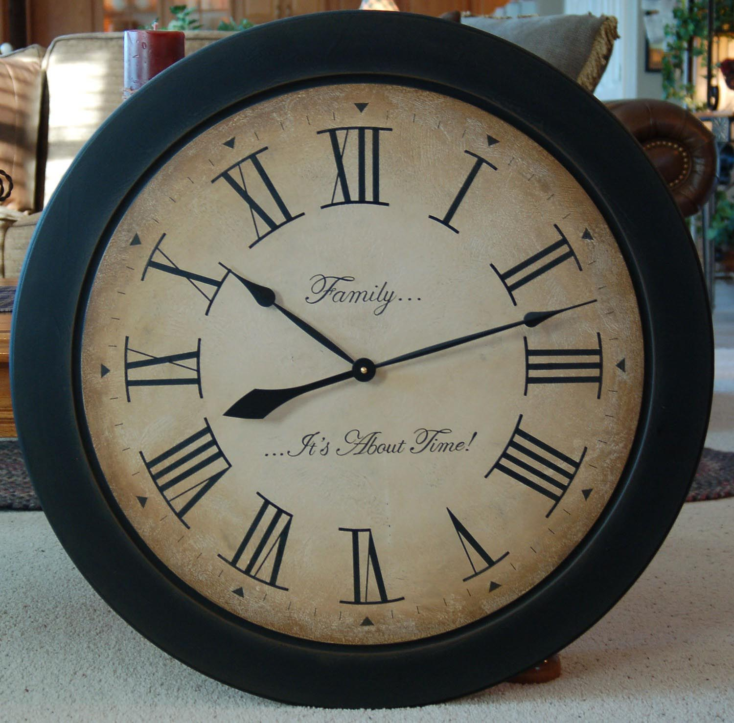 Big Clocks For Wall Big Clocks For Wall Best Decor Things