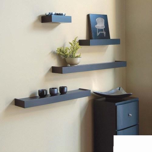 Medium Of Corner Wall Shelves