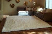 White Fuzzy Rug will Make Comfortable Your Room | Best ...