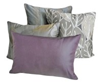 Purple And Grey Throw Pillows | Best Decor Things
