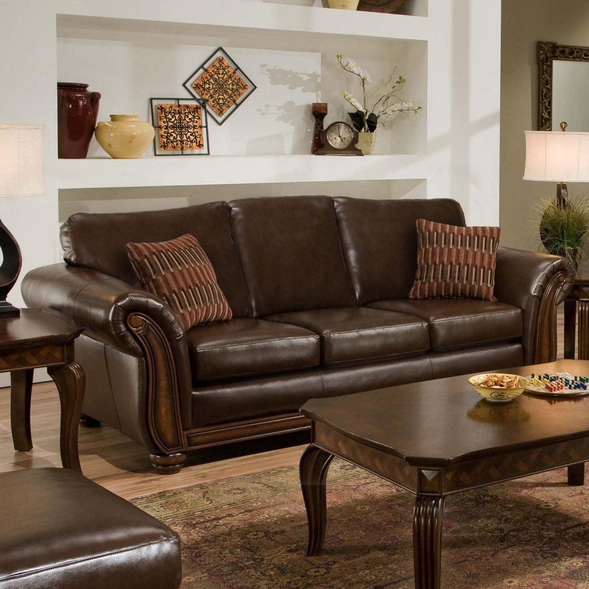 Cushions For Brown Leather Sofas Throw Pillows For Brown Sofa Best Decor Things
