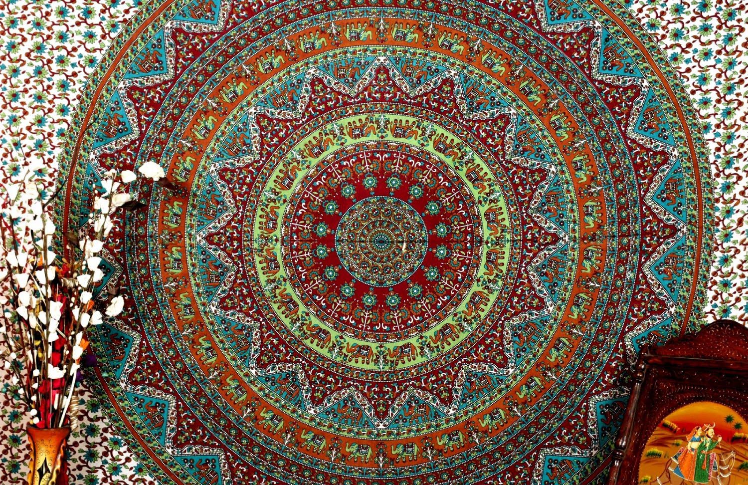 Cute Mandala Wallpaper Freedom To Your Imagination With Trippy Tapestries Best