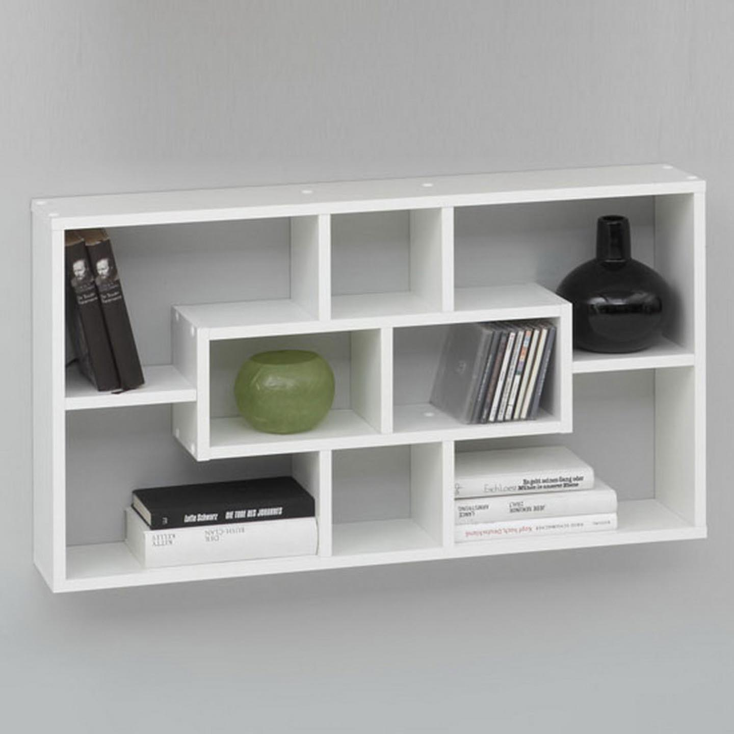 Wall Book Shelfs Decorative Wall Shelves In The Modern Interior Best