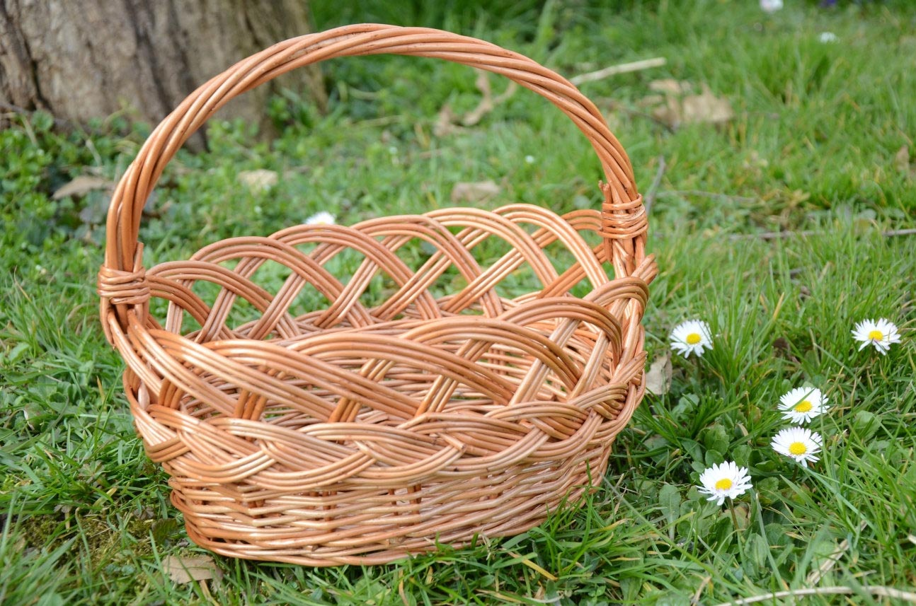 Fancy Baskets Decorative Wire Baskets With Handle Best Decor Things