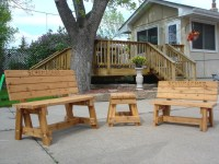 Handmade Outdoor Wood Furniture | Best Decor Things