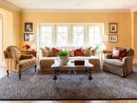 Leopard Rug Living Room