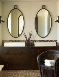 Oval Shaped Bathroom Mirrors | Best Decor Things