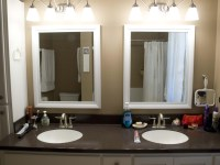 White Framed Mirrors For Bathrooms | Best Decor Things