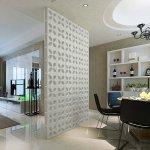 raumtrenner 5 stck stylen art deko idee daisy wei 24x24x8 - Raumteiler Ideen