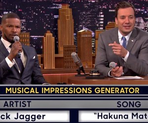 Jamie Foxx Jimmy Fallon