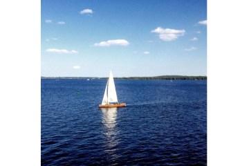 Lausitzer Seenland, Senftenberger See mit Segelboot