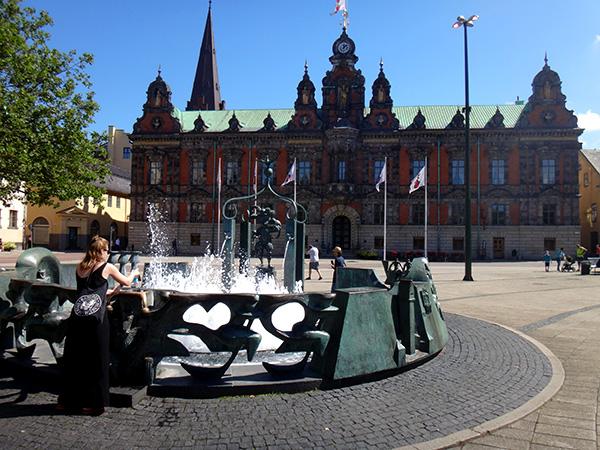 Rådhuset von Malmö