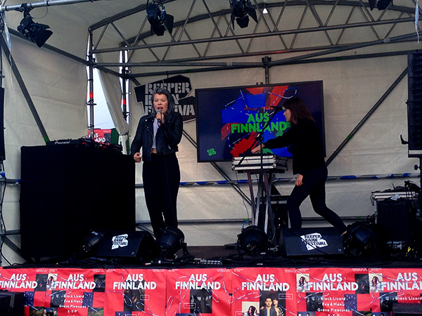 LCMDF aus Finnland spielen beim Reeperbahn Festival 2015.