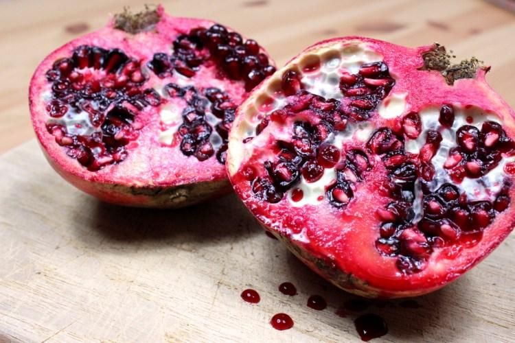 Granatapfel für Chia-Pudding