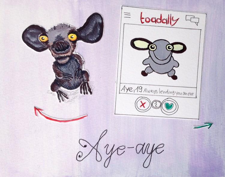 Die hässlichsten Tiere - Platz 7 Aye-aye