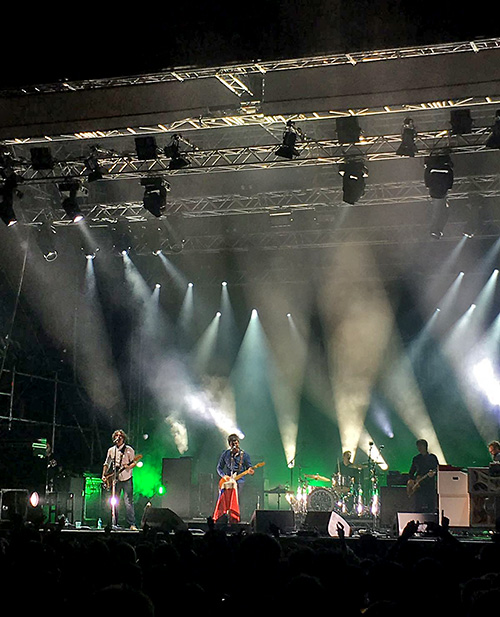 Noel Gallagher's High Flying Birds beim Pure and Crafted 2016