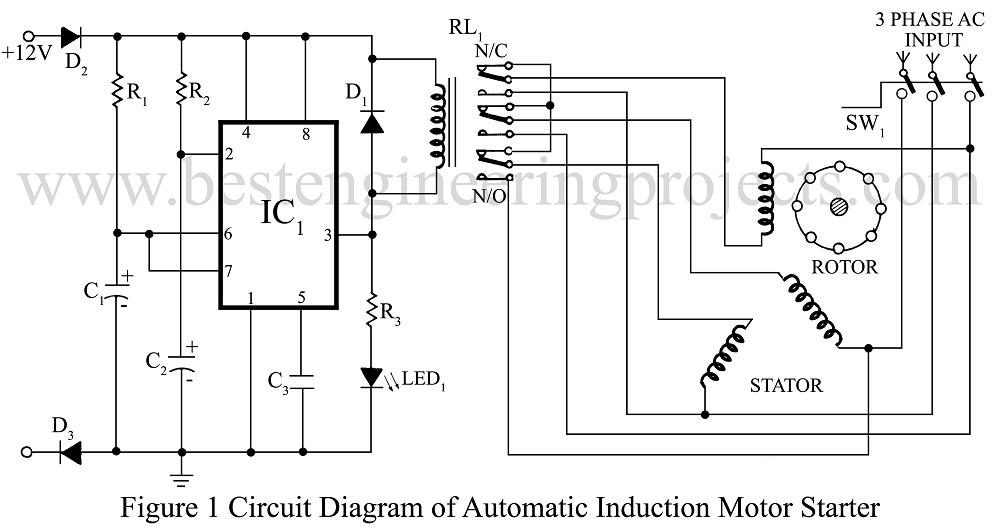 Star Delta Motor Wiring Diagram Star Delta Wiring Diagram For Ac