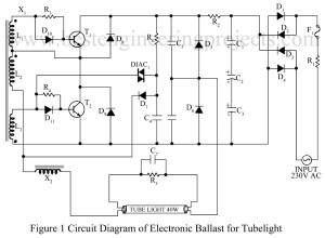 circuit diagram of electronics blast fro tubelight