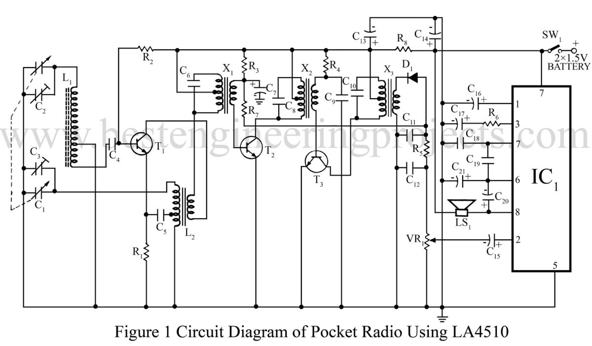 circuit diagram of pwm generator and class d power amplifier