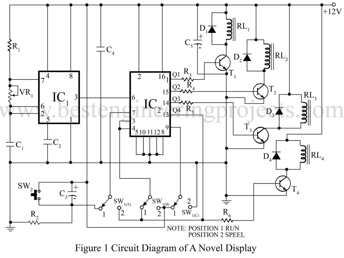 projects circuits easy electronics circuit project for students