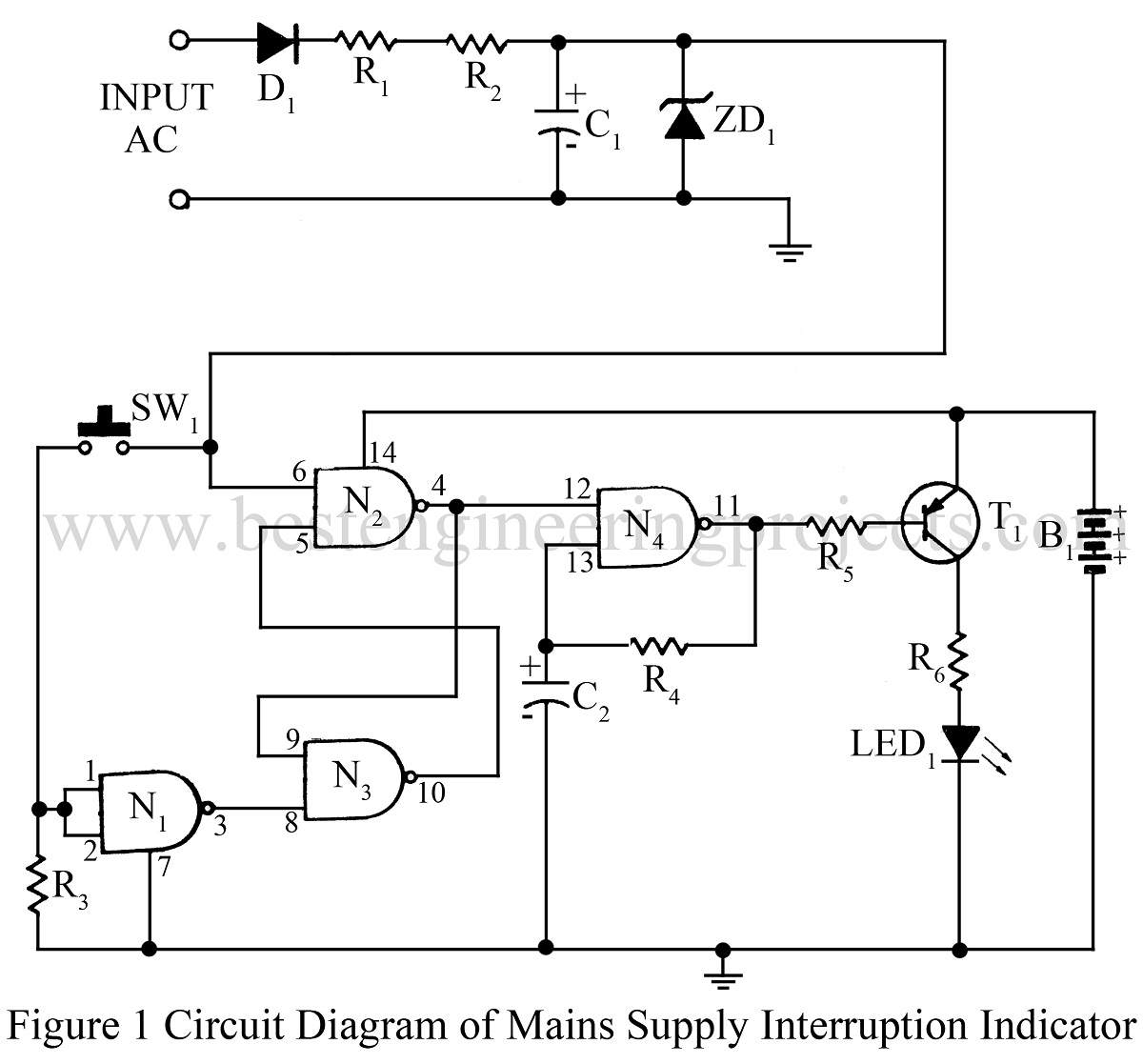 Complete List Of Electronics Projects Circuit Diagram Electronic Project