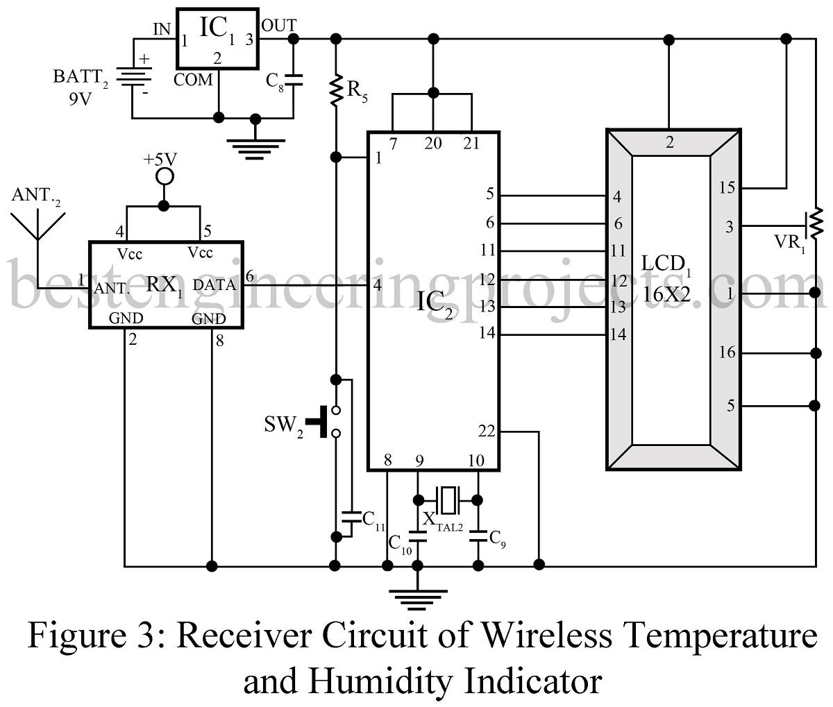 simple project circuit simple humidity sensor circuit