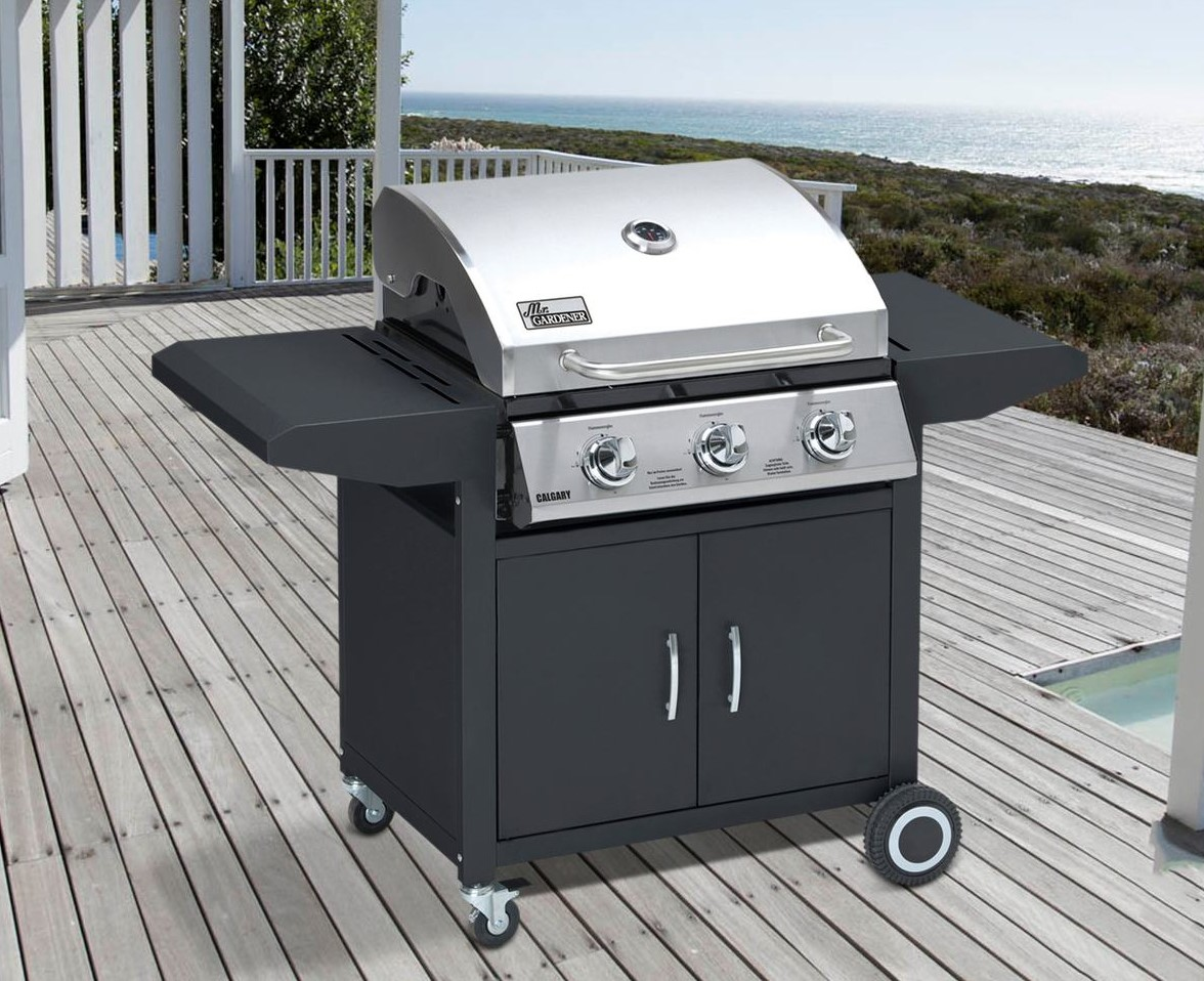 Landmann Gasgrill Portable Balkon Grill Gas Balcony Grill With Swivel Arm And