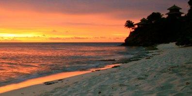 Caribbean Venue Sunset, Necker Island, British Virgin Islands, Caribbean, Prestigious Venues
