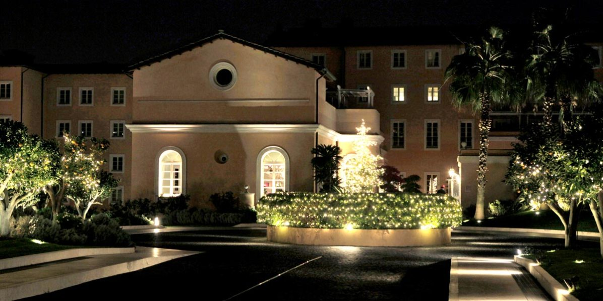 Christmas Party Events, Gran Melia Rome Villa Agrippina, Prestigious Venues