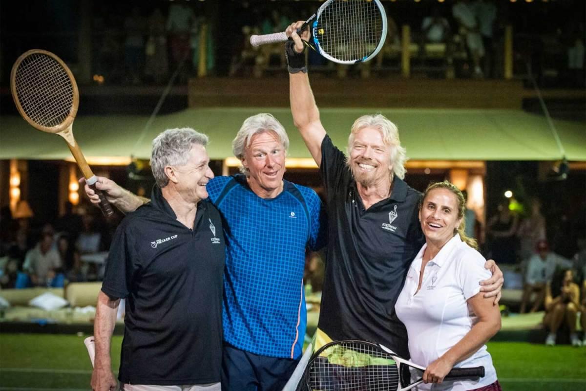Necker Island Tennis Competition, Prestigious Venues