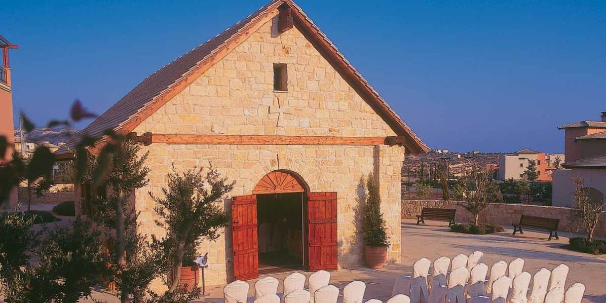 Wedding Chapel, Aphrodite Hills Resort Cyprus, Prestigious Venues