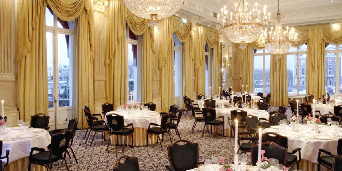 Grand Ballroom For Events, InterContinental Amstel Amsterdam Hotel, Prestigious Venues