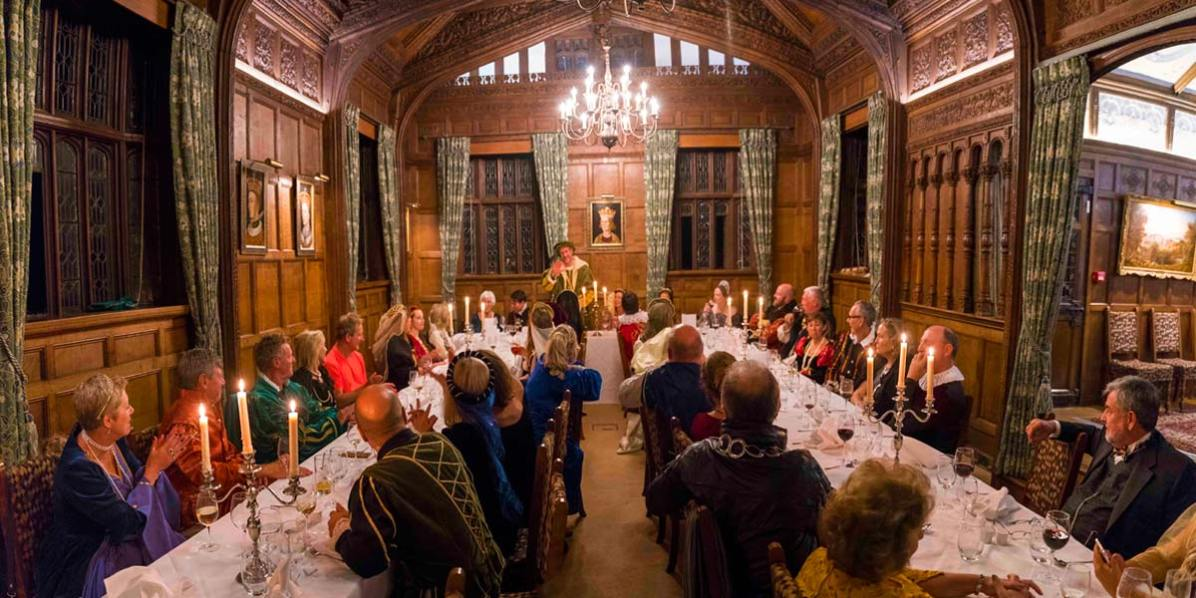 Themed Gala Dinner, Hever Castle, Prestigious Venues