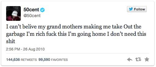 8-50-cent-granmother-garbage-tweet-most-retweeted-tweets-of-all-time