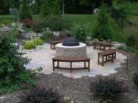 Backyard Fire Pit Ideas Landscaping | Fire Pit Design Ideas