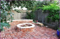 Brick Patio With Fire Pit | Fire Pit Design Ideas