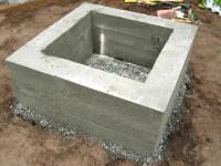 Easy Way to Make a Concrete Fire Pit   Fire Pit Design Ideas