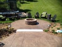 Concrete Outdoor Fire Pit | Fire Pit Design Ideas