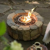 Deck Propane Fire Pit | Fire Pit Design Ideas
