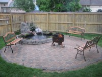 Deck With Built In Fire Pit | Fire Pit Design Ideas