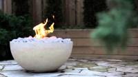 DIY Concrete Gas Fire Pit   Fire Pit Design Ideas