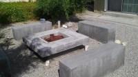DIY Concrete Propane Fire Pit   Fire Pit Design Ideas