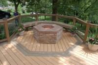Fire Pit In Deck | Fire Pit Design Ideas