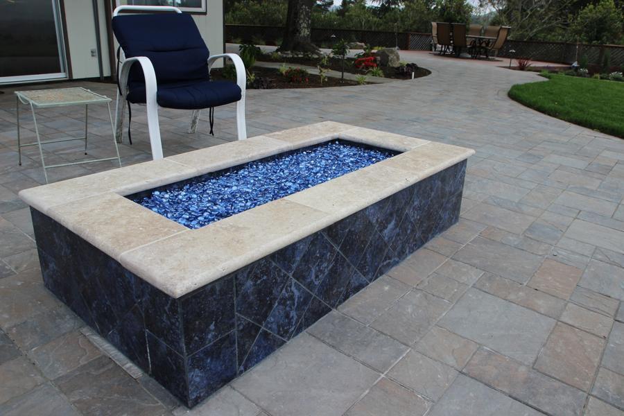 Rock Fire Pit Ideas Glass Rock For Fire Pit | Fire Pit Design Ideas