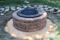 How To Make A Brick Fire Pit | Fire Pit Design Ideas