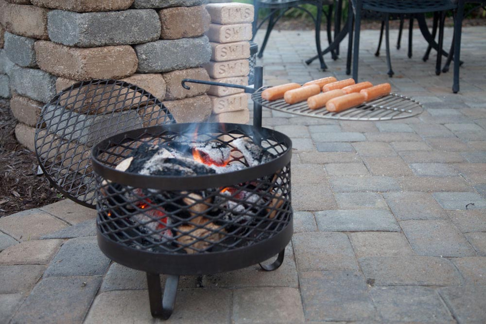 Portable Outdoor Fire Pit Grill Fire Pit Design Ideas